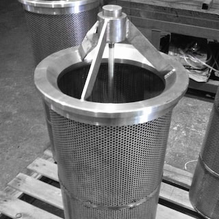 Singapore metal fabrication - Sea strainers