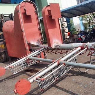 Singapore metal fabrication - Ship mast