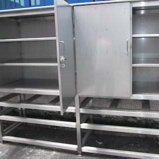 Metal fabrication - Singapore Stainless steel racks cabinets