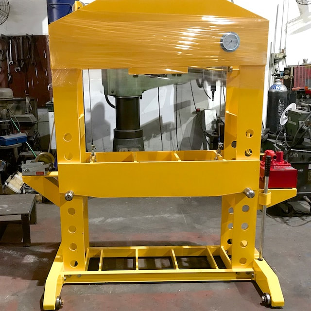 Steel fabrication singapore - Custom hydraulic press machine