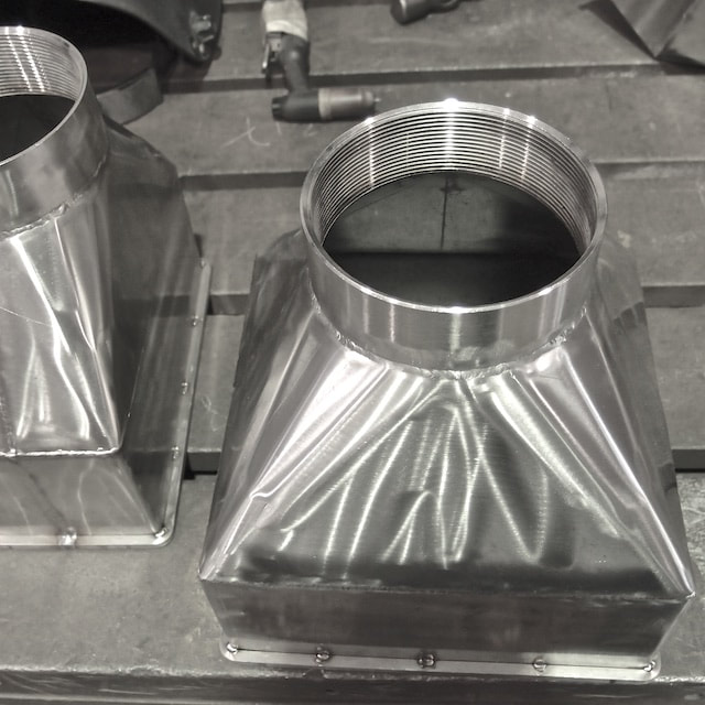 Metal fabrication Singapore - Ducting fittings